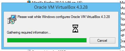 Barra que muestra el estado de la desinstalación del programa en cómo desinstalar un programa en Windows 8