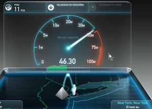 Cómo medir la velocidad de tu Internet