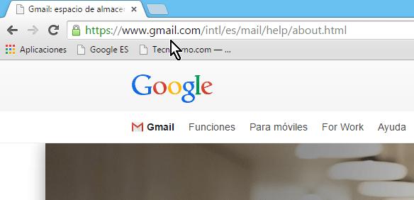 Dirección para acceder Gmail en español en cómo cambiar la contraseña de Gmail