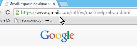 Dirección de Gmail en español en cómo cambiar la contraseña de Gmail