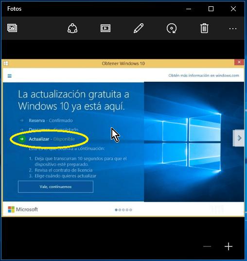 Imagen abierta con la aplicación Fotos en cómo usar por defecto el Visualizador de fotos de Windows para abrir imágenes