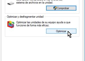 Cómo desfragmentar un disco en Windows 10