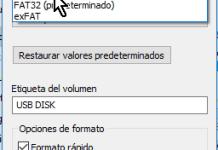 Seleccionando Sistema de archivos NTFS en cómo resolver el problema El archivo es demasiado grande