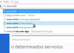 Cómo eliminar una sugerencia de la barra de direcciones de Google Chrome