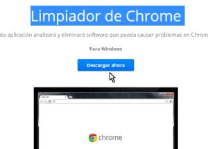 Cómo limpiar Google Chrome de software malintencionado