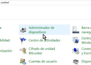 Cómo acceder el Administrador de dispositivos en Windows 10