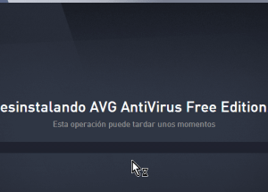 Cómo desinstalar AVG Antivirus Protection en Windows 10