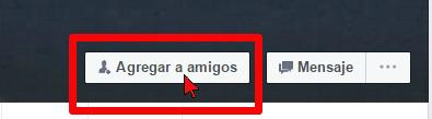 Botón Agregar a amigos en cómo desbloquear a un amigo en Facebook