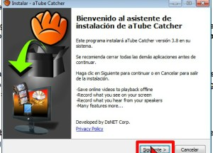Cómo usar aTube Catcher para descargar la música de un video de YouTube