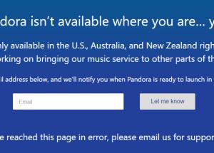 Cómo acceder la música de Pandora si está bloqueado en tu país