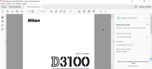 Adobe Acrobat DC en cuáles son los mejores programas para abrir archivos PDF en Windows 10