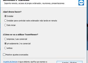 Cómo descargar e instalar TeamViewer en español