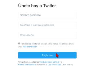 Cómo crear una cuenta de Twitter
