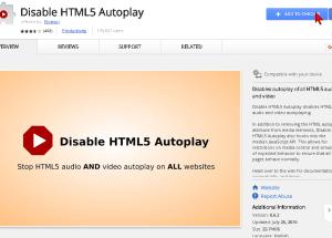 Cómo deshabilitar la reproducción automática de videos en HTML5