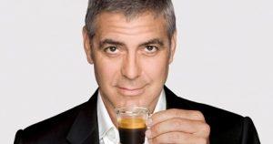george clooney nespresso tazzina