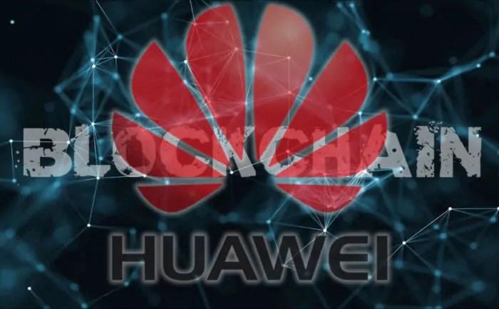 Huawei pronta per un nuovo smartphone con tecnologia blockchain