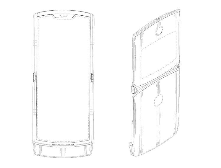 Motorola, trapelati i brevetti per il Razr con schermo