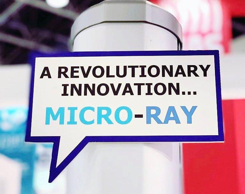 MICRO-RAY la novità assoluta di CIAS