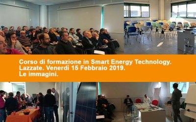 Le immagini del corso energia febbraio 2019