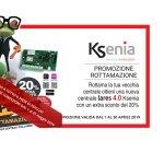 Promozione KSENIA – Rottamazione centrale anche a maggio 2019