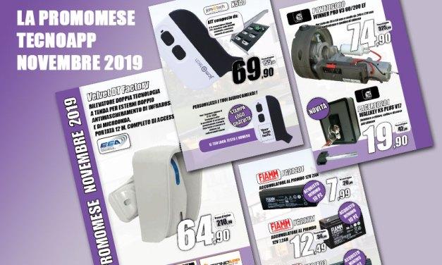 Promozione Tecnoapp novembre 2019