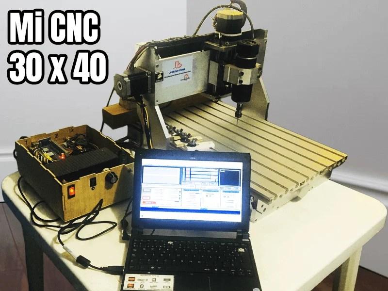 Mach3 cnc 30 x 40
