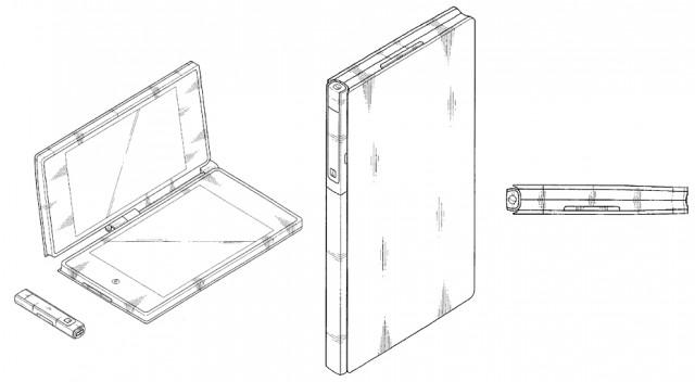 Samsung Galaxy Tab con doppio touchscreen a libretto
