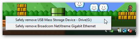 Windows: Atalho para remover hardware com segurança