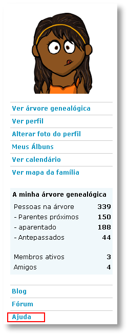 Árvore genealógica online