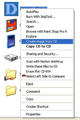 Como criar o ISO de um CD?