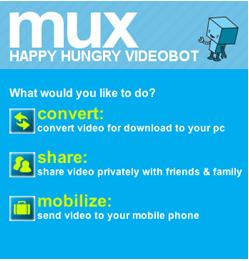 Conversor de vídeos online