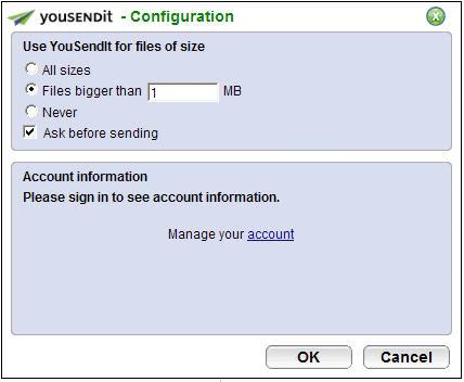 Envie arquivos grandes pelo Outlook
