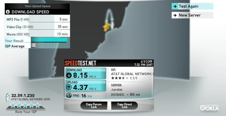 Teste a velocidade da sua internet