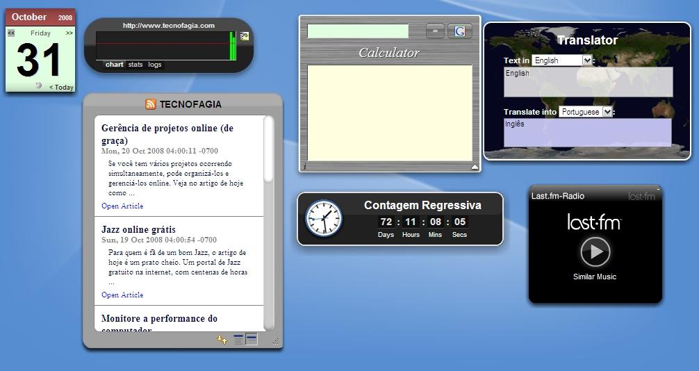 Tenha uma desktop online