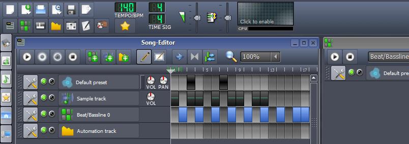 Edição de música eletrônica no computador