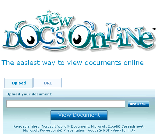 Visualize documentos do Office online