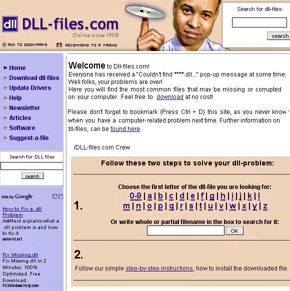 Como corrigir erros de DLL?