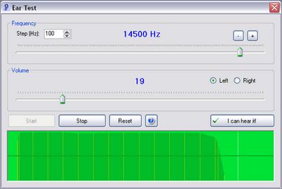 Programa grátis para exame de audiometria