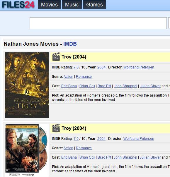 Como encontrar torrents de filmes?