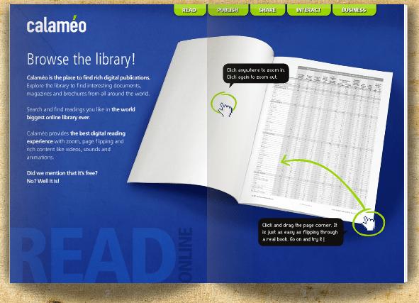Crie uma revista eletrônica online