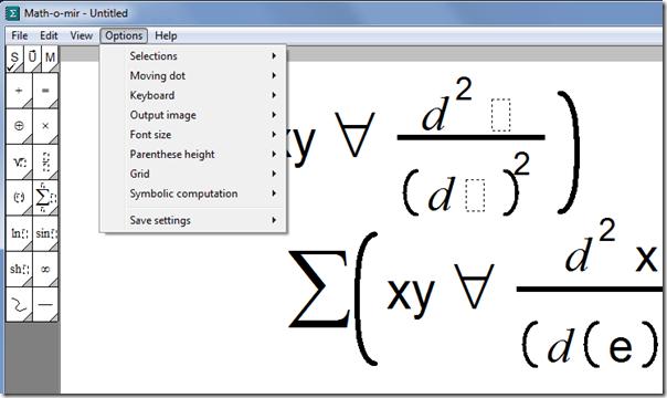 Como fazer equações no computador