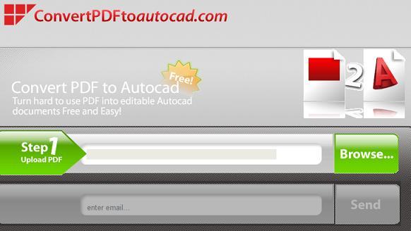 Como converter PDF para AutoCAD