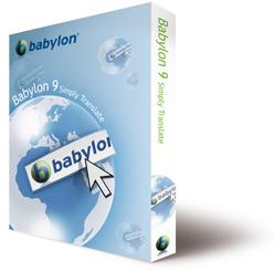 Programa de tradução gratuito: Babylon 9