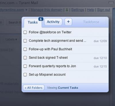 Transforme emails do Gmail em tarefas