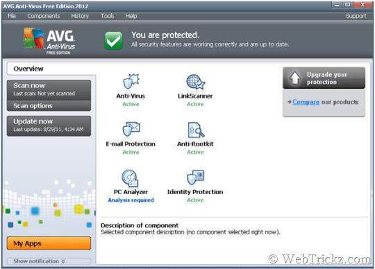 AVG Antivírus 2012 para download grátis