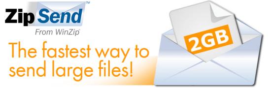 Serviço online do WinZip envia anexos grandes por email ou Facebook