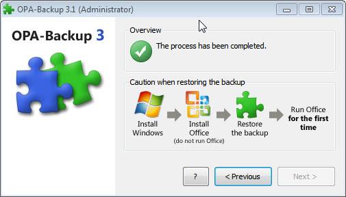 Como fazer backup da ativação do Office