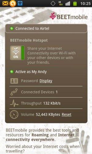 Transforme seu smartphone em roteador wireless