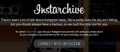Como baixar todas suas fotos do Instagram em um arquivo ZIP