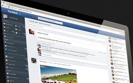 Experimente seu Facebook de cara nova com o NewGenBook